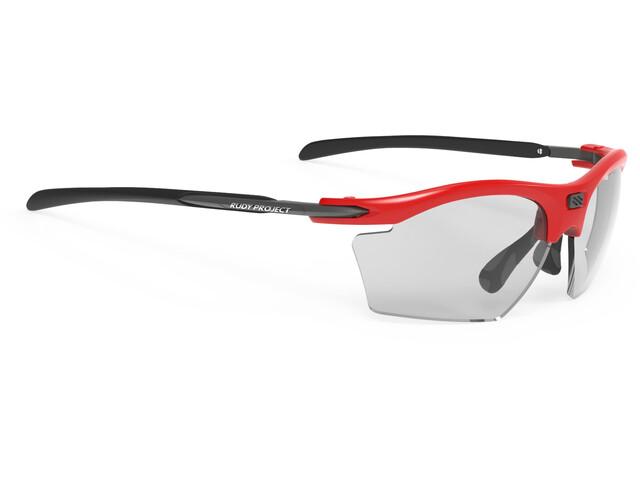 Rudy Project Rydon Slim Glasses Fire Red Gloss - ImpactX Photochromic 2 Black